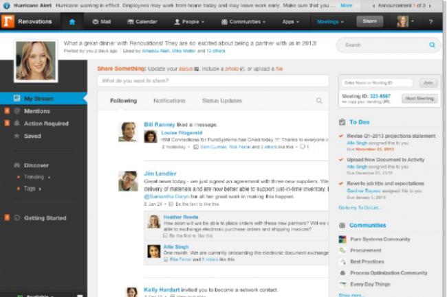 IBM Connections est aujourd'hui un des challengers crédibles à Sharepoint