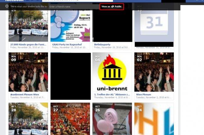 Exemple de capture d'écran proposée par l'association Crédit Photo: D.R