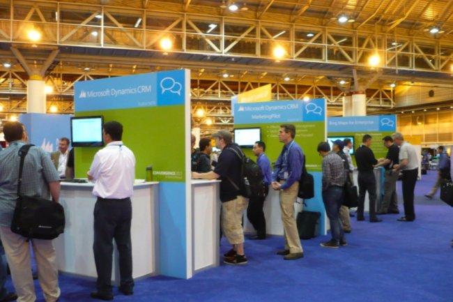 L'offre Dynamics CRM de Microsoft a vocation à évoluer rapidement (ci-dessus sur la conférence Convergence 2013 à La Nouvelle Orléans / Crédit : LMI).