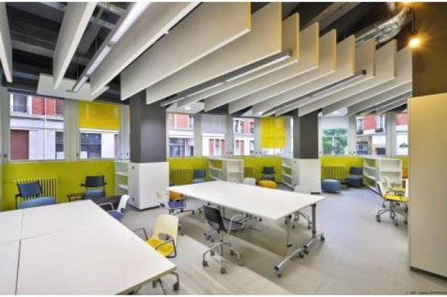 L'appel à candidatures pour Welcome City Lab est publié par Paris Incubateurs qui anime déjà 8 lieux d'incubation à Paris. (ci-dessus le Labo de l'édition Vème / crédit D.R.).
