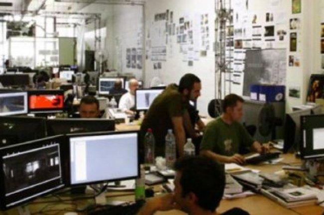 L�gende : Le gouvernement a annonc� la mise en place d�un groupe de travail sur le jeu vid�o dans les locaux du studio fran�ais Quantic Dream. Cr�dit : D.R
