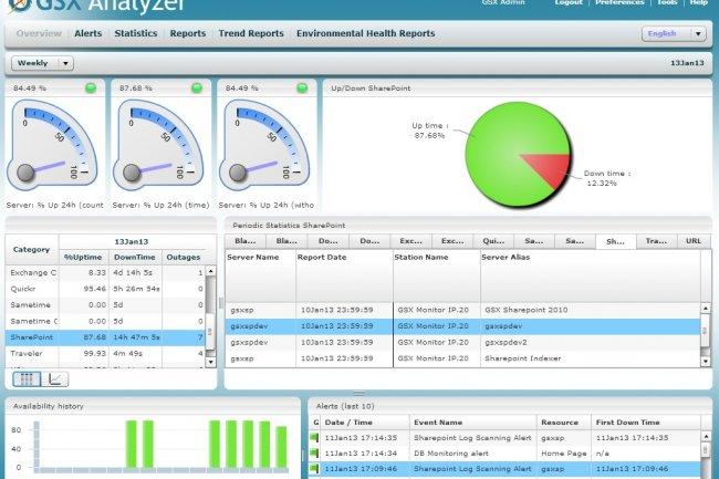 MMS 2013 : GSX Analyser, un portail web pour afficher des rapports