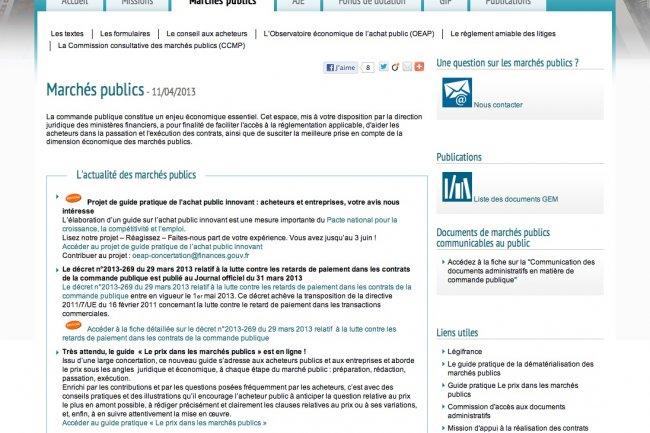 Un projet de guide sur l'achat public innovant est soumis � la consultation.