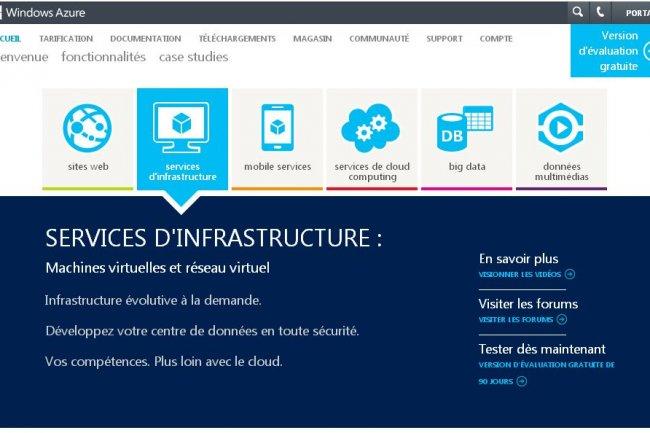 Les services IaaS de Windows Azure viennent de sortir de leur mode preview.