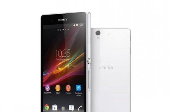 A la diff�rence de l'iPhone 5, l'Xperia Z de Sony est pr�t pour la 4G en France