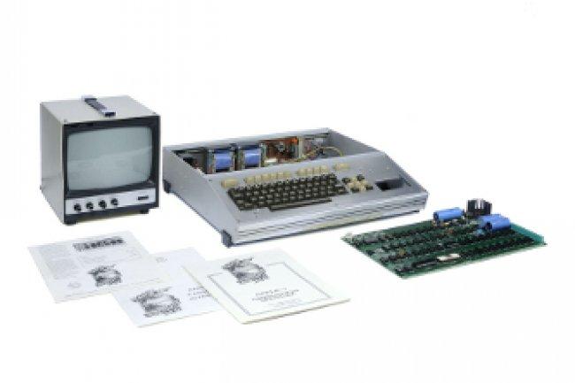 L'Apple 1 vendu aux enchères Crédit Photo: D.R