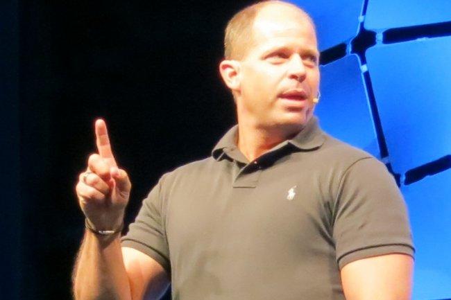Brad Anderson, vice-président corporate Windows Server et System Center chez Microsoft