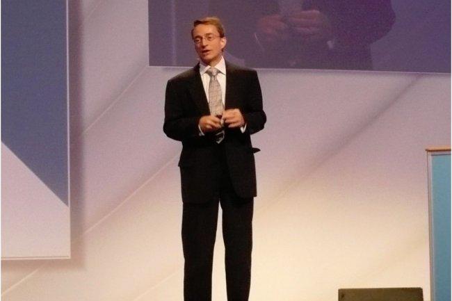 Pat Gelsinger sur l'édition 2013 du VMware Forum, ce matin à Paris. (photo : LMI)