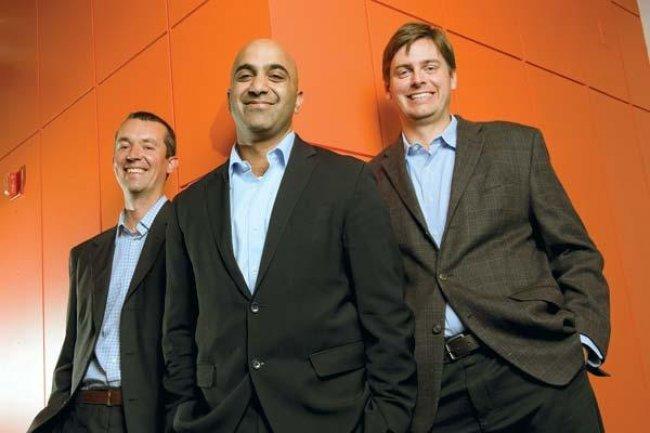 Les dirigeants du cabinet de conseils Lunexa, Alex Macievich, Jagrit Malhotra et David Cole (de gauche � droite). Cr�dit D.R.