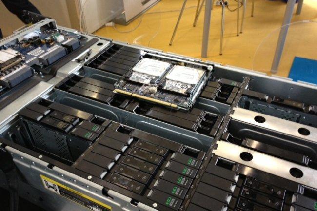 Le châssis du Moonshot 1500 de HP peut accueillir des cartouches avec des puces x86 ou ARM.