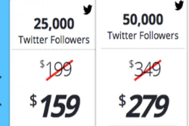 Les prix ont baiss� pour l'achat de followers sur Twitter Cr�dit Photo: D.R