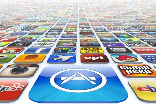 Depuis 2008, l'App Store permet de t�l�charger des applications sur son terminal iOS.