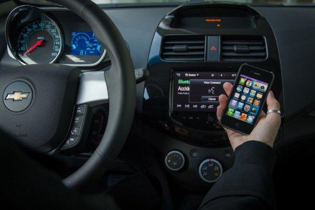 Siri Eyes Free est intégré au système MyLink de Chevrolet.