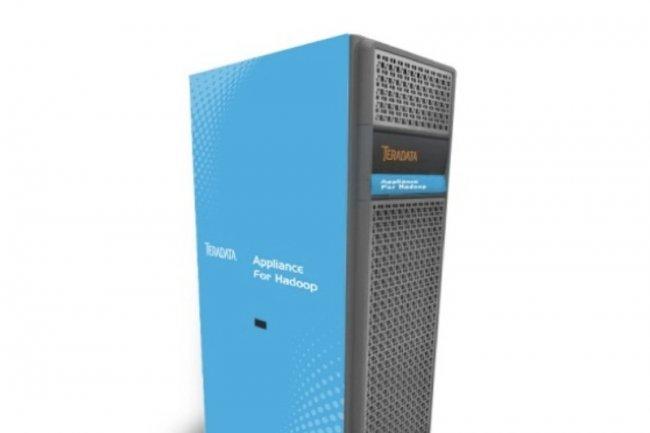L�Appliance for Hadoop de Teradata, sous Suse Linux 11, est �quip�e de processeurs Xeon � huit c�urs, de liens Infiniband et de 152 To de stockage non compress�.