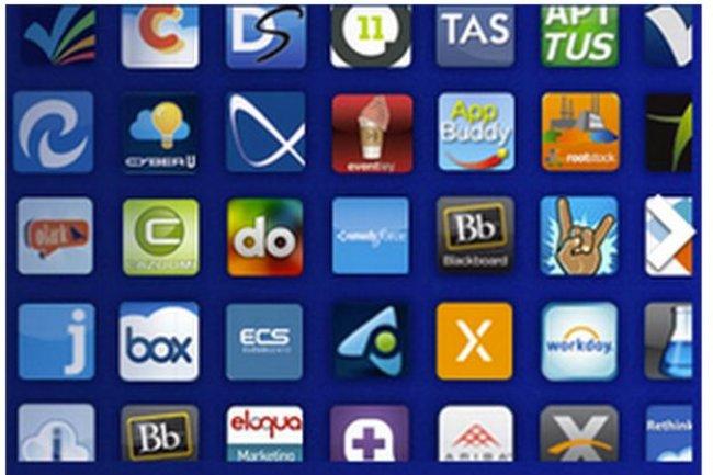 Le 9 ao�t 2013, le site AppExchange comptabilisait 1 878 applications, dont 56 % payantes.