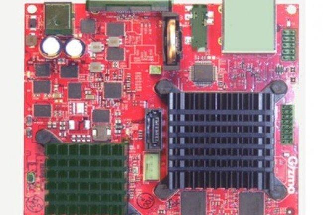 La carte Gizmo, de GizmoSphere, utilise un processeur 64-bits G-T40E dual-core d'AMD cadencé à 1 GHz. Crédit photo : Agam Shah / IDG News Service New York