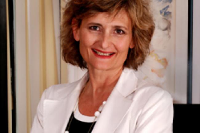 V�ronique di Benedetto, directrice g�n�rale d'Econocom France. (cr�dit : D.R.)