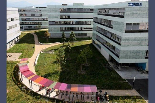 Le si�ge de Nexthink, � l'EPFL. (cr�dit D.R.)