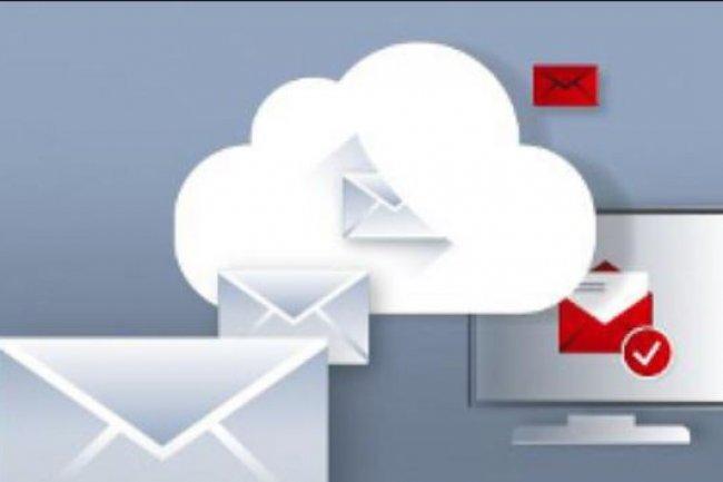 L-email est l'applcation la plus utilisée des solutions en mode SaaS. Crédit: D.R