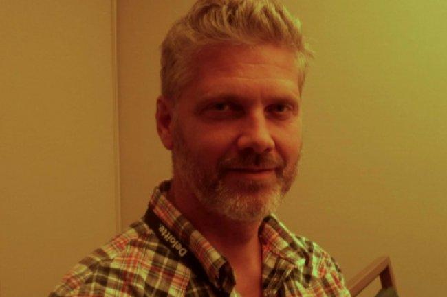 Tomas Ulin, vice-pr�sident, responsable du d�veloppement de MySQL. (cr�dit : LMI)