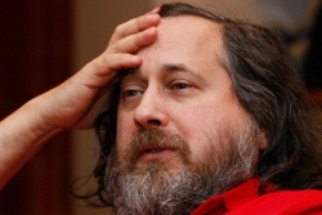 Richard Stallman, président de la Free Sotware Foundation Crédit Photo: D.R