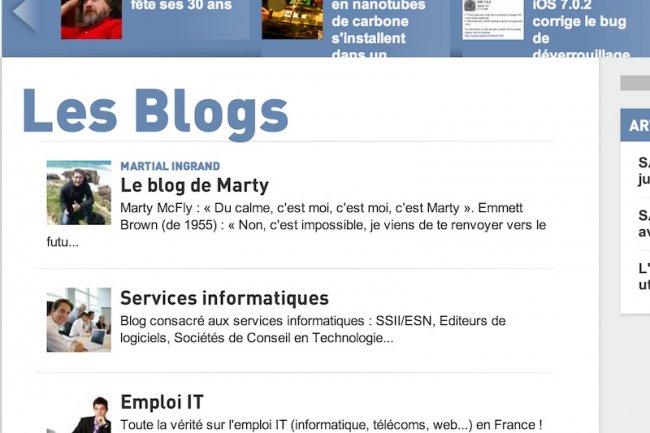 Publiez un blog sur la plate-forme du Monde Informatique