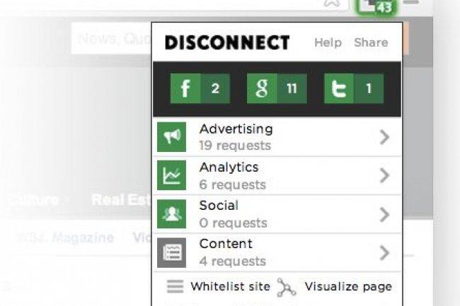 Disconnect Search, l'add-on qui préserve votre intégrité sur la toile