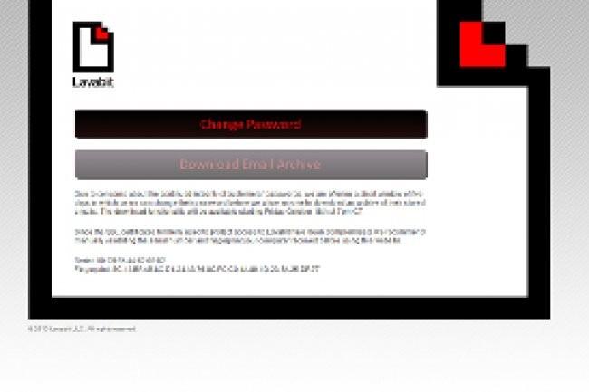 Le site Lavabit rouvre temporairement pour laisser les abonnés télécharger leurs archives. Crédit Photo: D.R