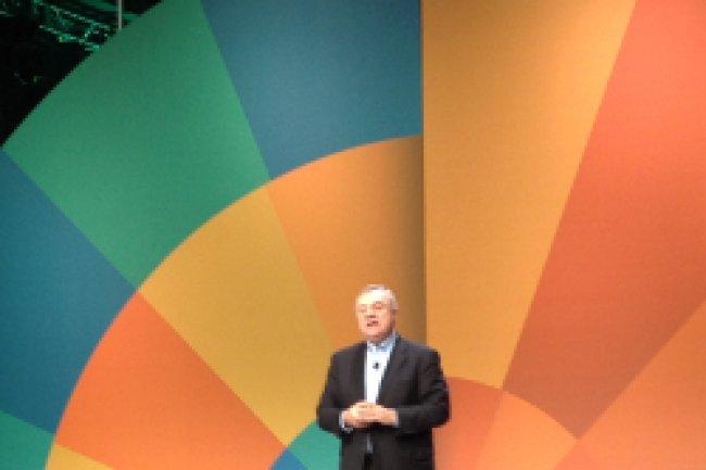 Steve Mills, senior vice-président de l'activité Software et Systems d'IBM, a dressé les avantages des mainframes. Crédit Photo : D.R