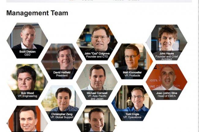 L'équipe dirigeante de Pure Storage dominée par des anciens de Veritas