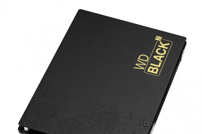 wd black2 capacit et vitesse au prix fort dans un disque dur avec flash le monde informatique. Black Bedroom Furniture Sets. Home Design Ideas