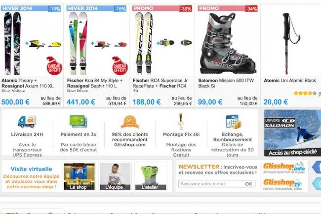 Avec le matériel de ski comme avec les produits de beauté, il est possible de stimuler les achats avec le modèle S-O-R
