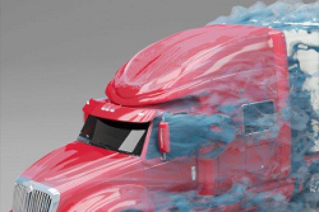 Une application pour tester et simuler en soufflerie s'appuie sur les capacités de traitement d'un supercalculateur. Crédit Photo: D.R
