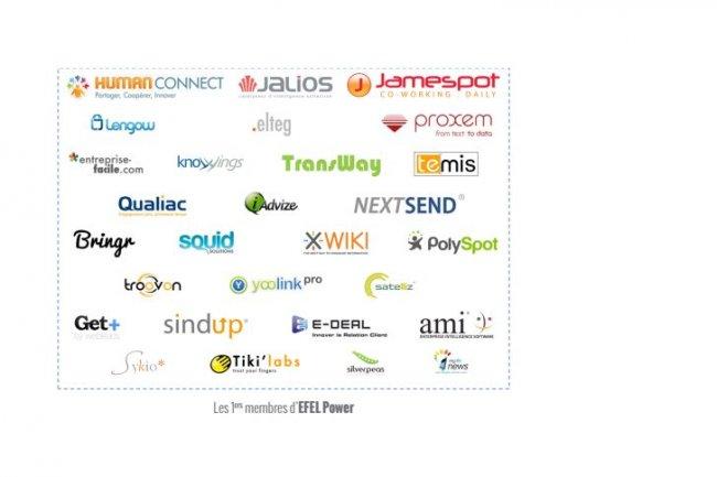 L'association Efel Power compte pour l'instant une petite trentaine d'éditeurs français de logiciels.