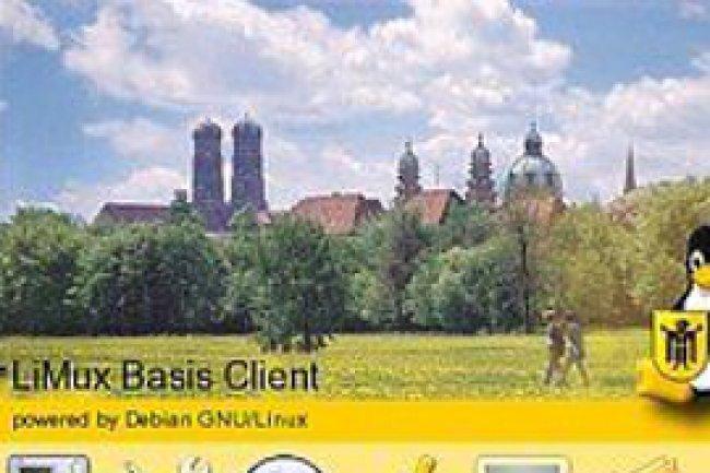 L'environnement Limux est pr�sent sur les PC des fonctionnaires de la ville de Munich. Cr�dit Photo: D.R