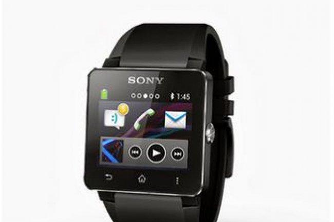 Avec la version 2 de sa Smartwatch, Sony a présenté un modèle étanche de montre connectée.