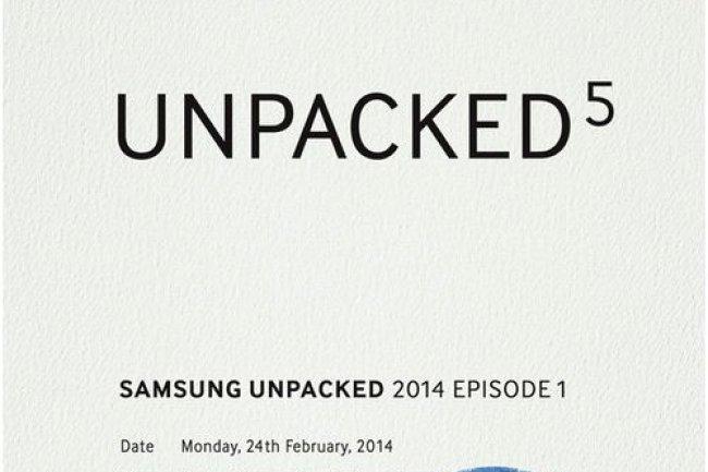 Samsung lancera un produit sur le MWC 2014, sans doute le smartphone Galaxy S5. (crédit : D.R.)