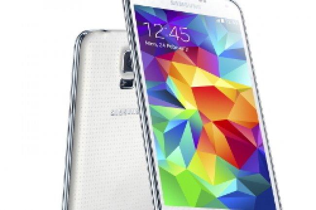 Le Galaxy S5 de Samsung sera disponible le 11 avril. Crédit Photo: D.R