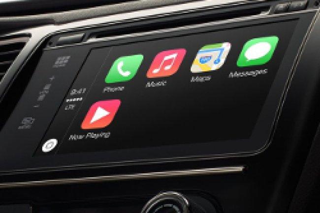 Plusieurs automobiles présentées au salon de Genève seront équipées de CarPlay. Crédit Photo: D.R