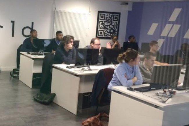 Le  programme de formation dispensé par la WebForce3  s'étale sur trois mois. Crédit: D.R