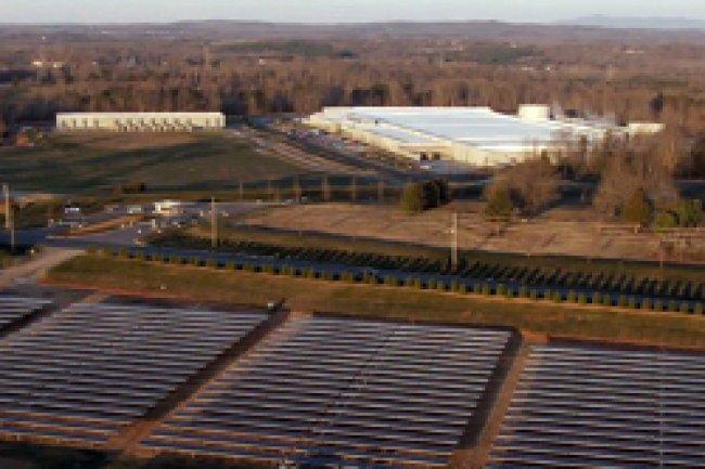 Apple a été récompensé pour sa politique de développement des énergies renouvelables dans ses datacenters. Crédit Photo : D.R
