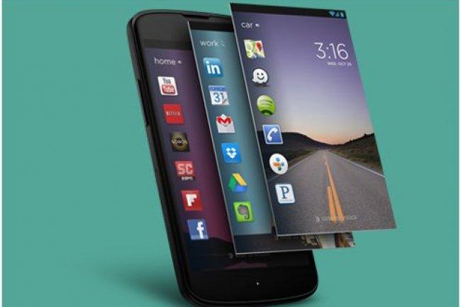Cover propose aux utilisateurs de smartphones Android d'accéder à des apps différentes en fonction du contexte.