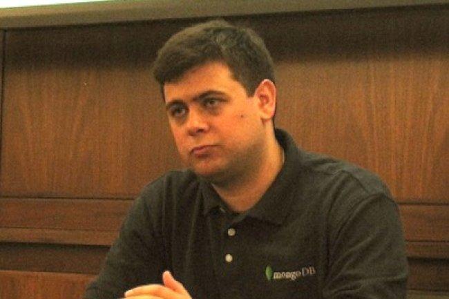 Eliot Horowitz, CTO et cofondateur de MongoDB. Crédit D.R.