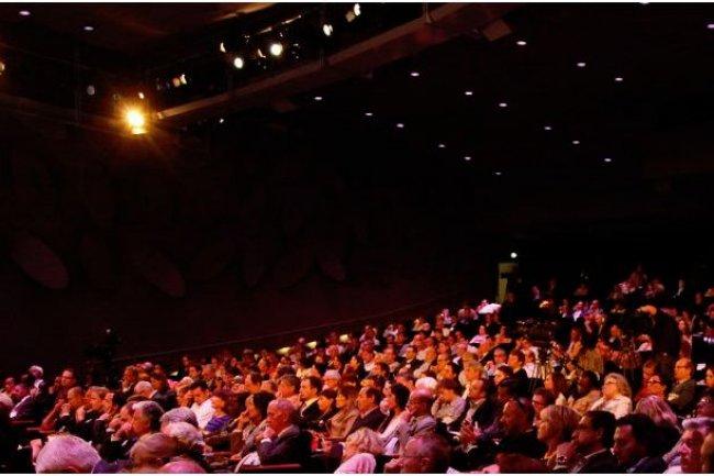 La 12�me �dition de Plan�te PME se tiendra le 19 juin 2014 au Palais des Congr�s de Paris (ci-dessus, s�ance pl�ni�re lors de l'�dition 2013, cr�dit D.R.)