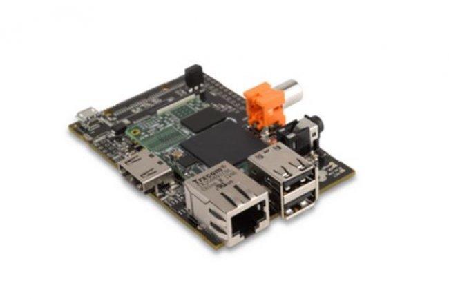 La carte HummingBoard est équipée d'un processeur quad-core ARM Cortex-A9 Freescale i.MX6 et d'un coeur graphique haute définition. (crédit : D.R.)