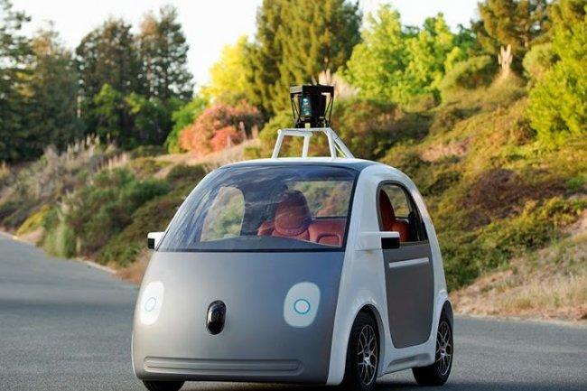 La voiture sans chauffeur de Google pourra rouler � une vitesse de 40km/h. Cr�dit: D.R