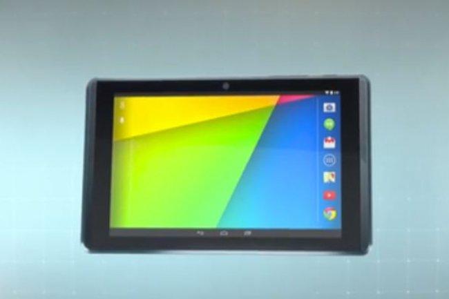 Google aurait lancé la production de 4 000 tablettes Project Tango équipées de fonctions 3D avancées. Crédit: D.R