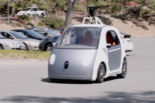 la voiture autonome de google est une aubaine pour l. Black Bedroom Furniture Sets. Home Design Ideas