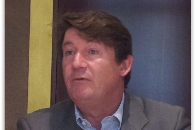 Philippe Tavernier, directeur général de Numergy, a donné le coup d'envoi au lancement de sa dernière offre cloud OpenStack à l'occasion d'une rencontre avec la presse mercredi matin. (crédit : LMI)