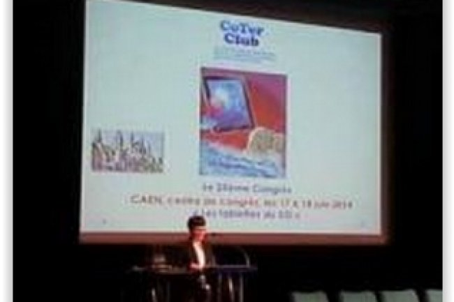 Les 17 et 18 juin 2014, le Coter-Club a organis� son vingt-cinqui�me congr�s � Caen sur le th�me des � Tablettes du DSI �. (cr�dit : D.R.)